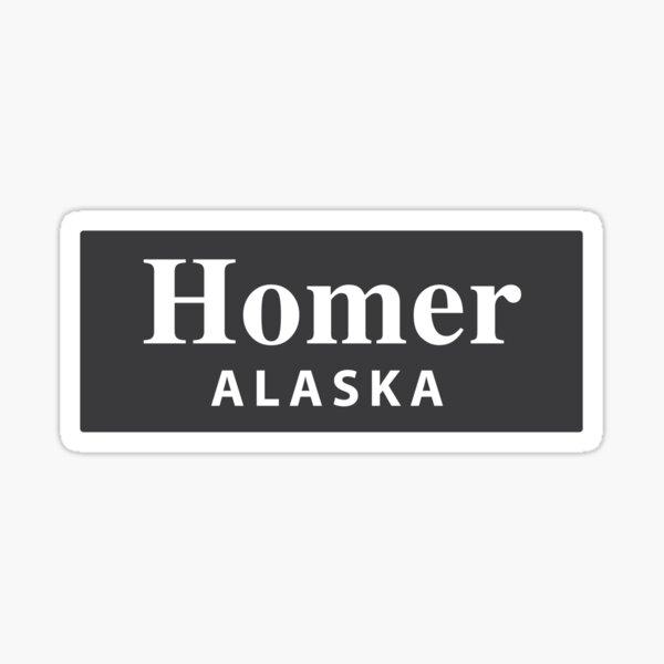 Homer, Alaska Sticker