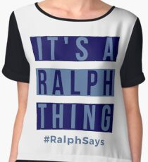 It's a Ralph Thing - #RalphSays for the Ralphs Around the World Chiffon Top