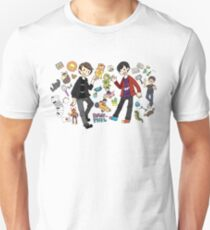 Camiseta ajustada dan + phil: tabinof presentación
