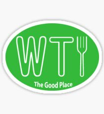 What the Fork- The Good Place Sticker