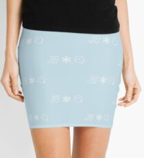 Paper. Snow. A Ghost! Mini Skirt