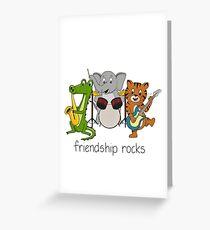 Friendship Rocks Greeting Card