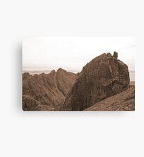 Sgurr Alasdair and the Inaccessible Pinnacle, Skye Canvas Print
