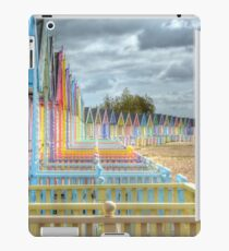 Beach Huts - Waiting for the Summer iPad Case/Skin