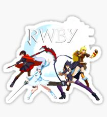 RWBY - Fight On! Sticker