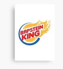 Bapstein (Burger) King Comet Canvas Print