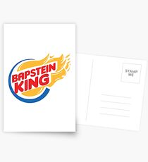 Bapstein (Burger) King Comet Postcards