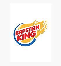 Bapstein (Burger) King Comet Photographic Print