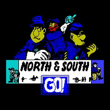 Gaming [ZX Spectrum] - North & South by ccorkin