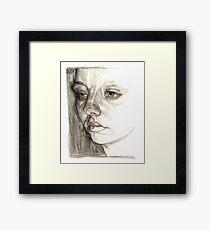 Dark sister Framed Print