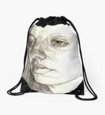 Dark sister Drawstring Bag