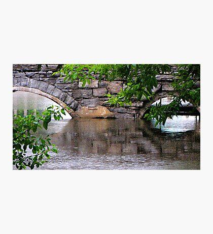 The bridge of reflection Photographic Print
