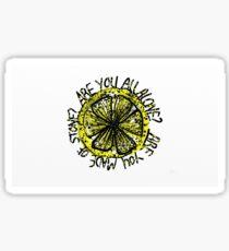Stone Roses- Made of Stone lyrics Sticker