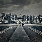 In front of monastery by Roberto Pagani