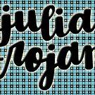 Julia Trojan - Finale Outfit Pattern Background by Ashley Wijangco