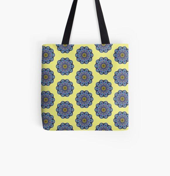 Mandala Pattern I All Over Print Tote Bag