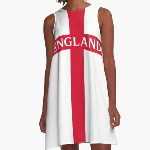 ENGLAND ST. GEORGE CROSS, BY SUBGIRL A-Line Dress