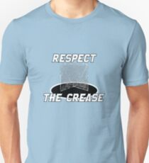 Lacrosse Goalie Gift – Respect the Crease Unisex T-Shirt