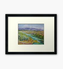 Rocky Mountain High, Colorado Framed Print