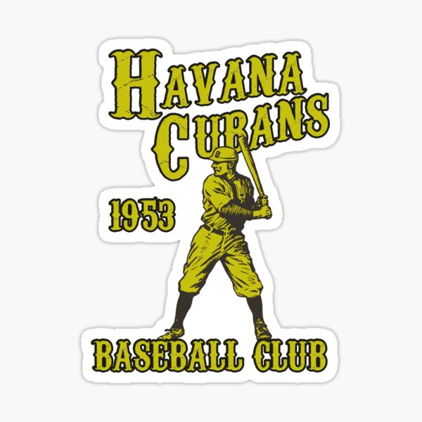HAVANA BASEBALL CLUB DEFUNCT TEAM CUBANS Sticker