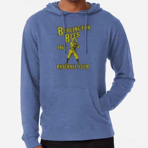 BURLINGTON BEES VINTAGE BASEBALL CLUB DEFUNCT Lightweight Hoodie