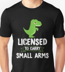 Dinosaur T-Rex Funny Unisex T-Shirt