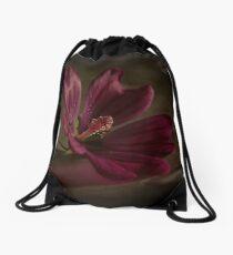Discrete Eventide Drawstring Bag