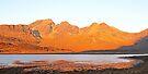 Bla Bheinn (Blaven) At Sunrise Across Loch Slapin by ScotLandscapes