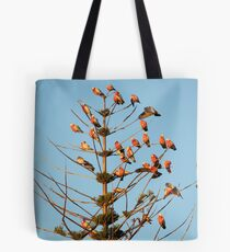 sunset chatting Tote Bag