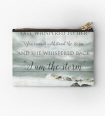 Fate Whispered to Her Studio Pouch