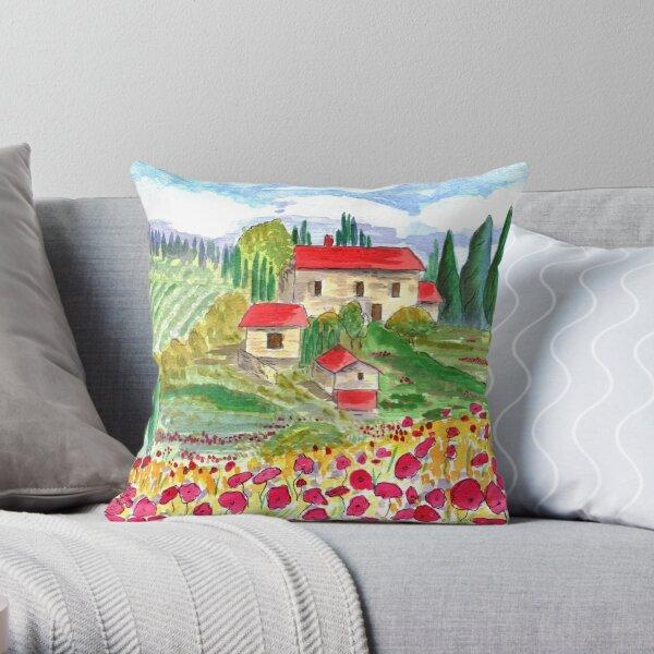 Tuscany Throw Pillow