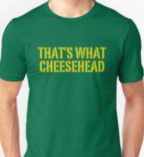 THATS WHAT CHEESHEAD LUSTIG Slim Fit T-Shirt