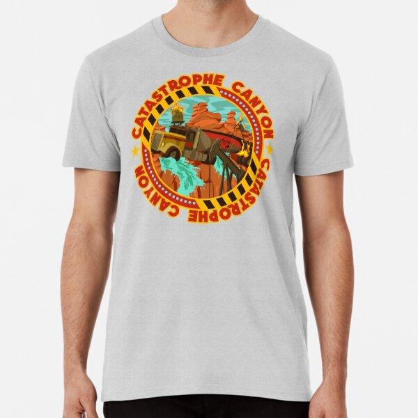 Studio Backlot Tour - Catastrophe Canyon Premium T-Shirt