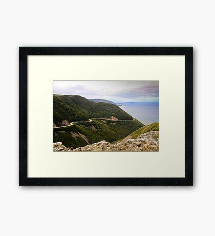 Cabot Trail, Cape Breton Island Framed Print