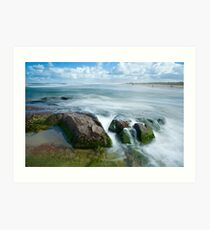 Stockton beach Art Print