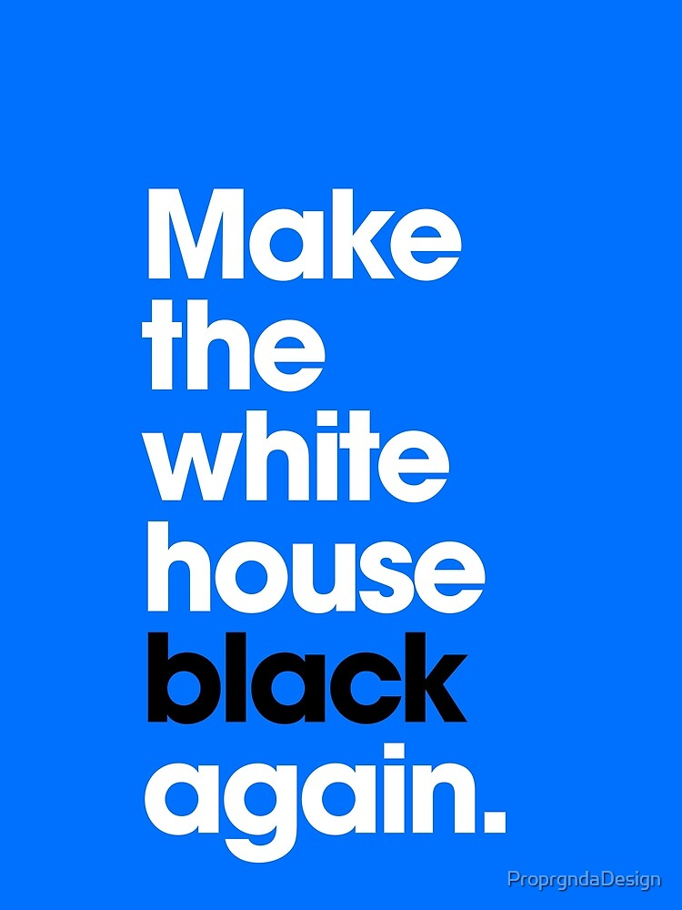 Make America Great (Blue) by ProprgndaDesign