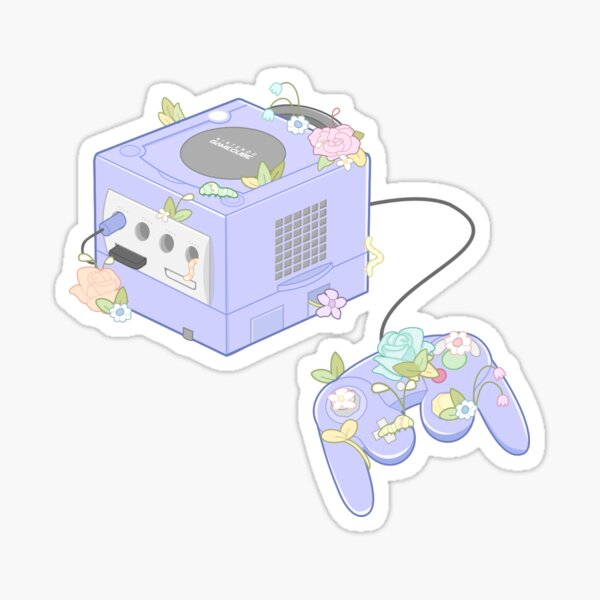 Gamecube Sticker Sticker
