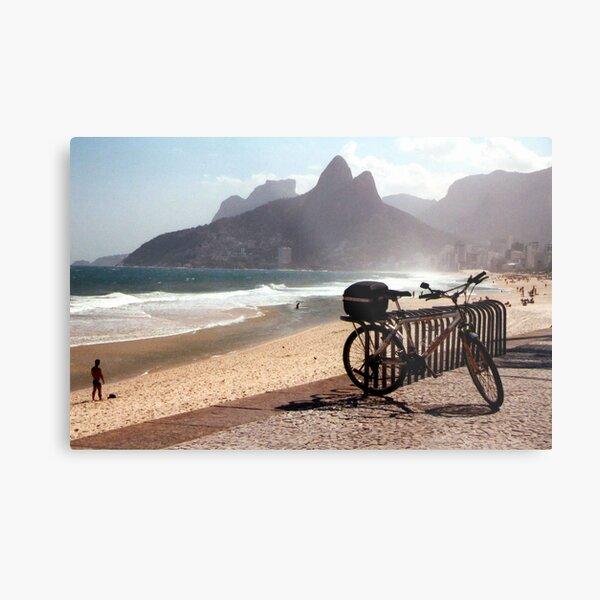 Ipanema Beach Metal Print