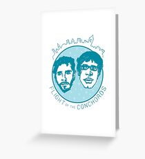 Flight of the Conchords Greeting Card