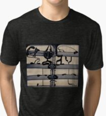 Techno Janissaries Refinance Their Imperial Ambitions Tri-blend T-Shirt