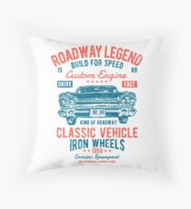 Cars | Classic Cars | Vintage Cars | American Muscle | American Cars Throw Pillow