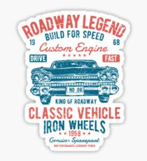 Cars | Classic Cars | Vintage Cars | American Muscle | American Cars Sticker