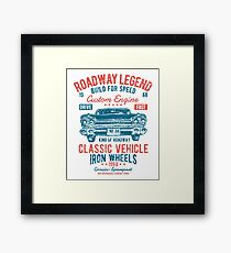 Cars | Classic Cars | Vintage Cars | American Muscle | American Cars Framed Print