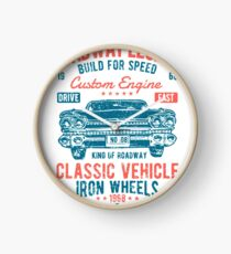 Cars | Classic Cars | Vintage Cars | American Muscle | American Cars Clock