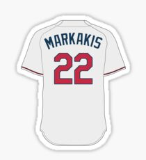 Atlanta Braves - Nick Markakis Sticker