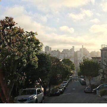 Hills of San Francisco  by PrintHub