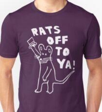 Camiseta unisex ¡Ratas fuera de ti!