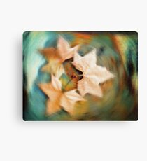 Autumn spin Canvas Print