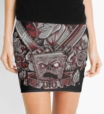 Come Get Some - Print Mini Skirt
