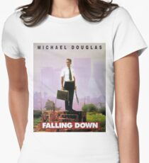 FALLING DOWN Women's Fitted T-Shirt